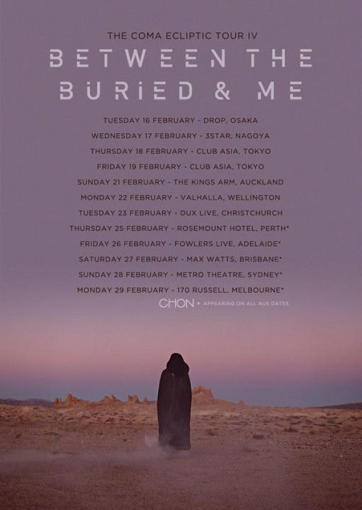 Between The Buried And Me来日