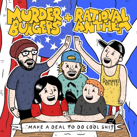 The Murderburgers & Rational Anthem
