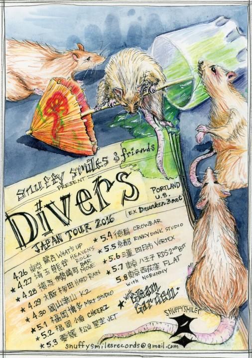 divers japan tour 2016