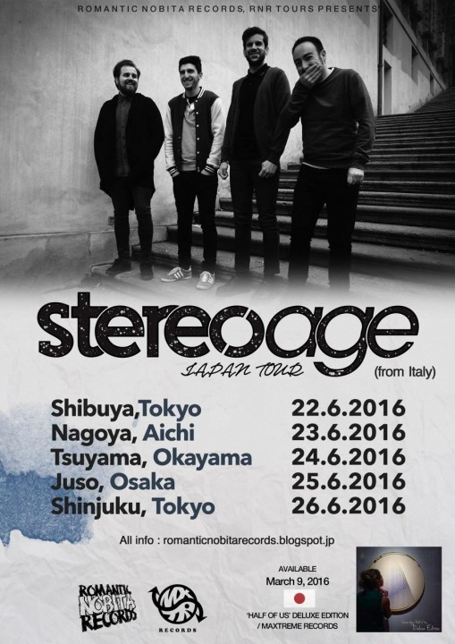 stereo age japan tour 2016