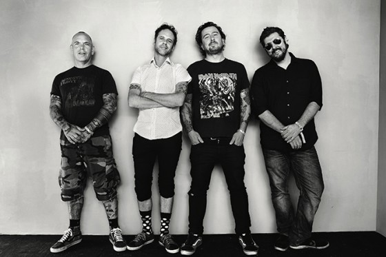 "The Bouncing Souls release new song; ""World on Fire"""