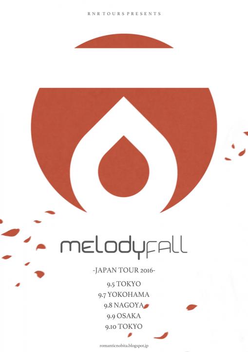 melody fall japan tour