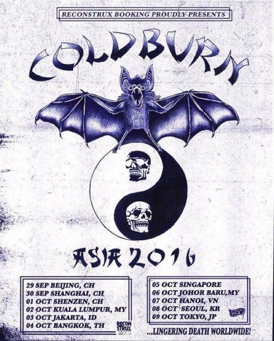 Coldburn japan tour 2016