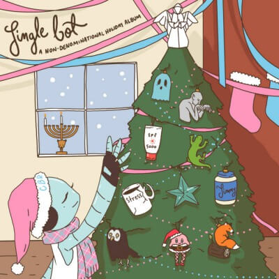 "Chatterbot Records release new compilation album; ""Jinglebot"""