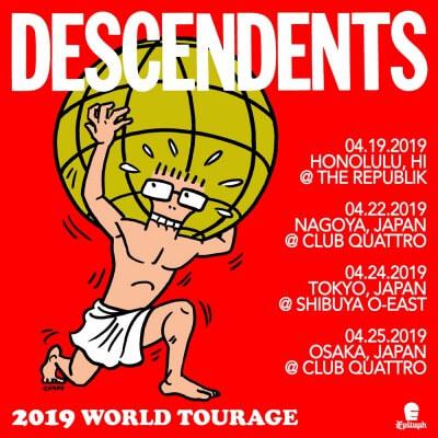 Descendents Japan tour 2019 決定
