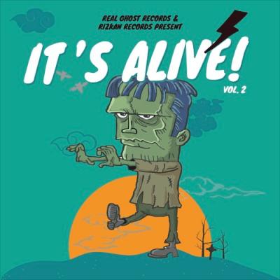 "Real Ghost Records/Rizkan Records stream new compilation; ""IT'S ALIVE! VOL. 2"""