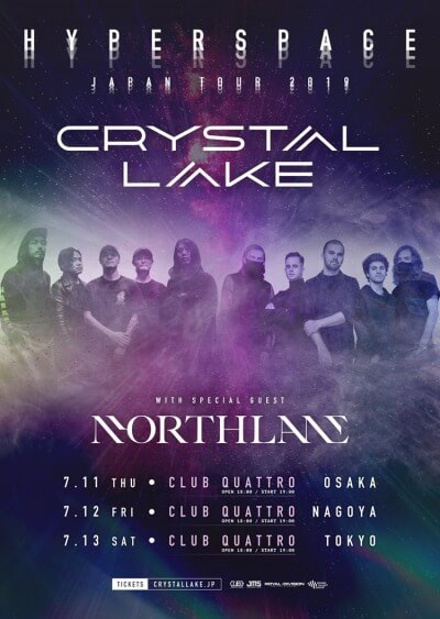 Crystal Lake / Northlane Japan tour 2019 決定