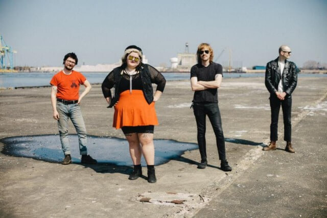 """Sheer Mag release new song; """"Crushed Velvet"""""""