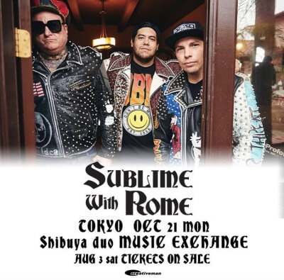 Sublime With Rome Japan tour 2019 announced