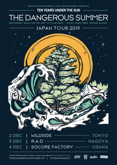 The Dangerous Summer Japan tour 2019 announced