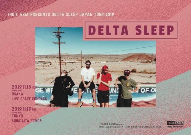 Delta Sleep Japan tour 2019 announced