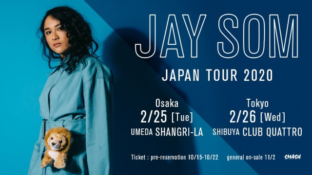 Jay Som Japan tour 2020 announced
