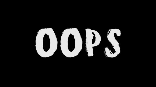 "[Music Video] OOPS ""不安定な不安点"""