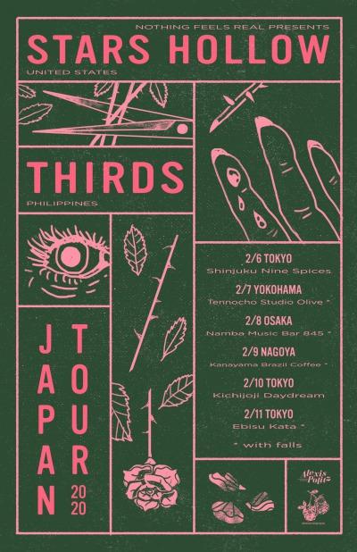 Stars Hollow / Thirds Japan tour 2020 announced