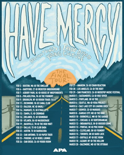 Have Mercy announce final tour