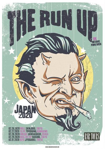 The Run Up Japan tour 2020 announced
