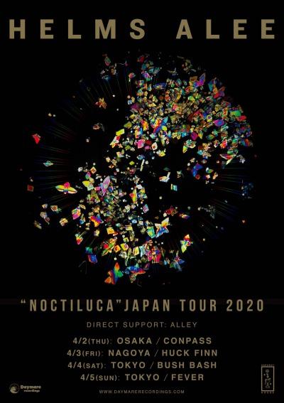 Helms Alee Japan tour 2020 announced