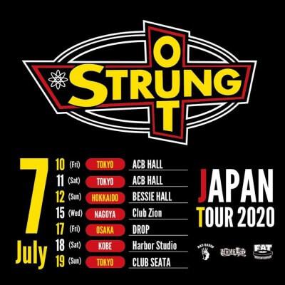 Strung Out Japan tour 2020 announced