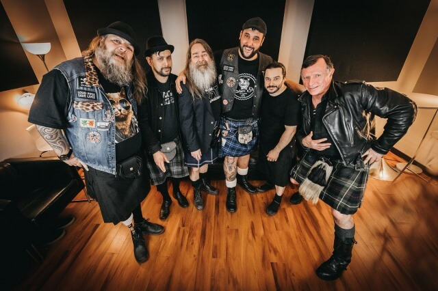 """The Real McKenzies release new song; """"Big Foot Steps"""""""